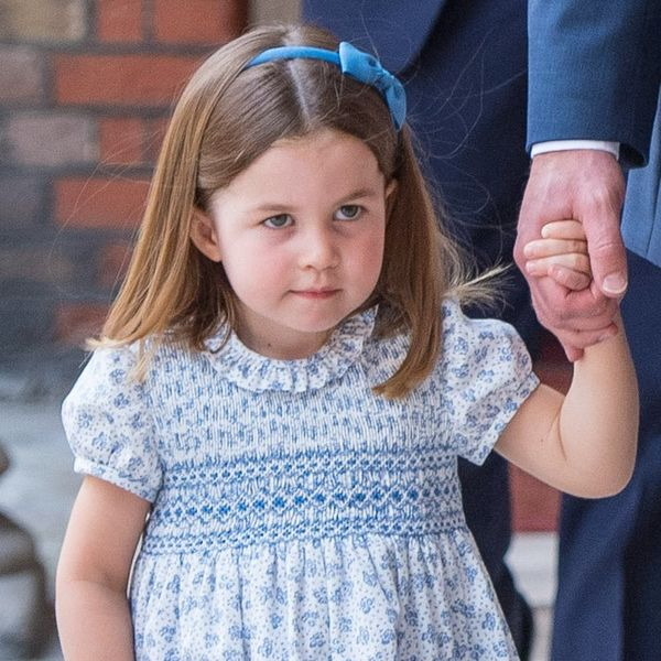 Prince George and Princess Charlotte Looked Picture-Perfect at Prince Louis' Christening