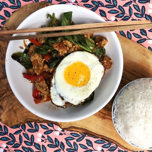 Finish Off Your Surplus of Summer Basil With This Thai Stir Fry Recipe