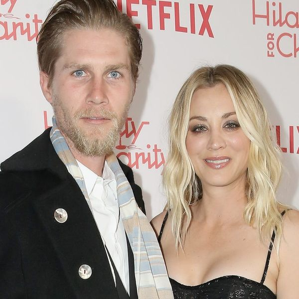 See the Uber-Trendy Lace Ensembles Kaley Cuoco Wore on Her Big Wedding Day