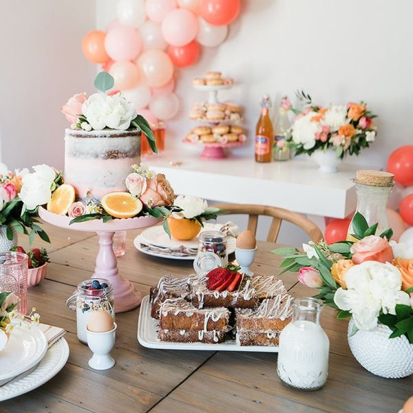 This Blogger's Bridal Brunch Is a Wonderland of Pink and Pastries
