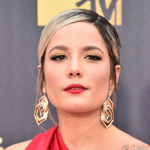 Halsey Got the Daintiest Face Tattoo You Ever Did See