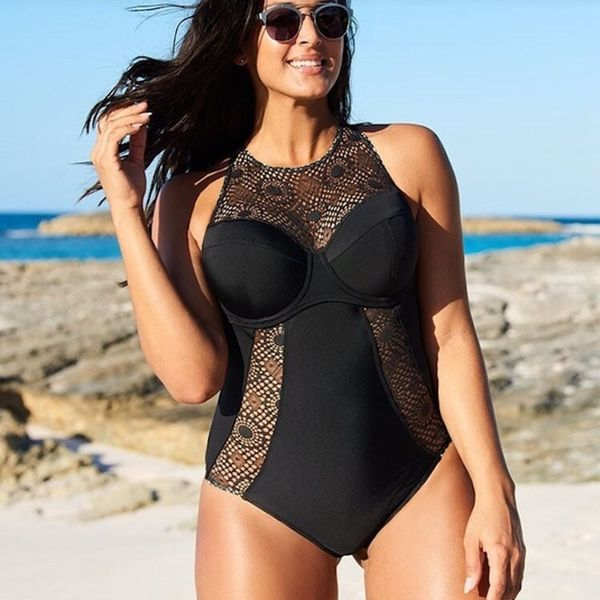 11 Supportive Swimsuits for Women With D+ Cups