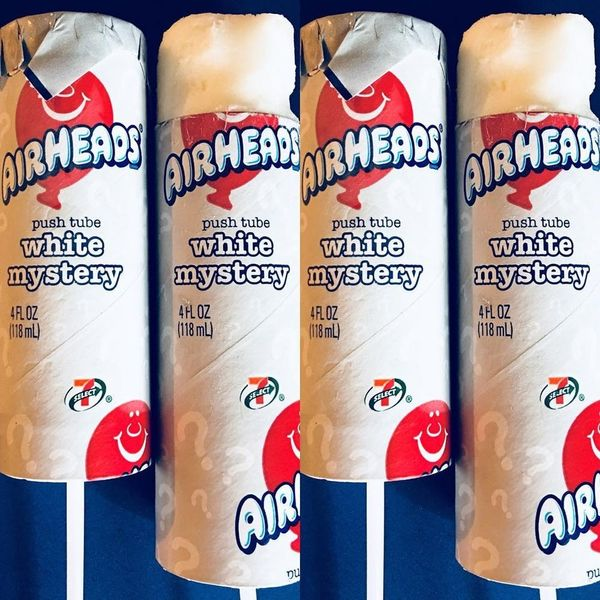 "7-Eleven Frozen Airheads White Mystery ""Push Tubes"" Let You Relive Your '90s Childhood"