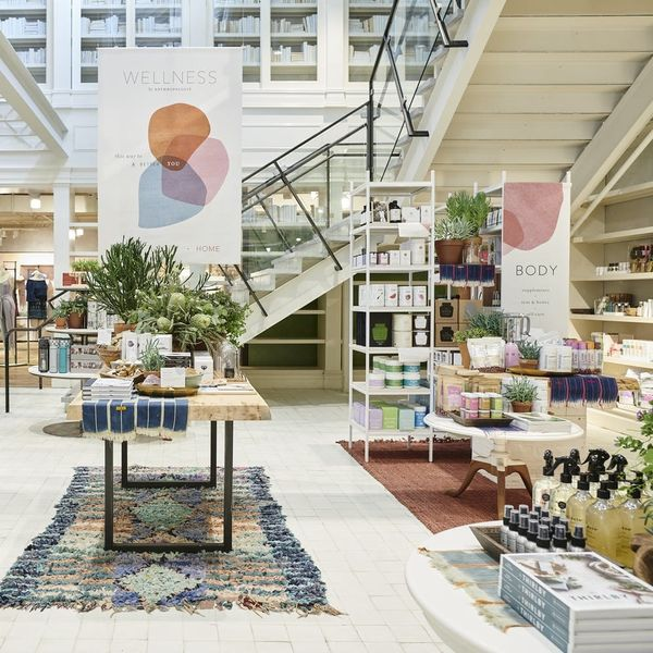 Anthropologie Is Launching a Wellness Shop That Stocks Gorgeous #Shelfie Products