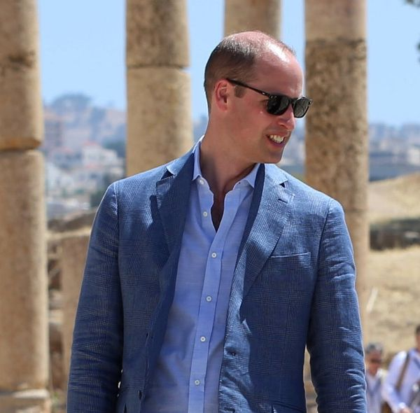 Prince William Visited the Site of One of Duchess Kate's Childhood Photos in Jordan