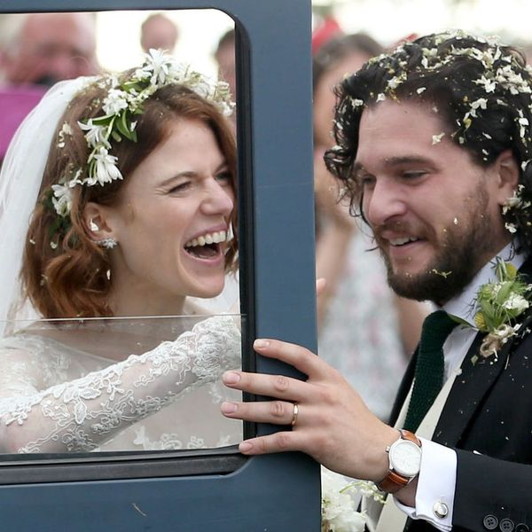 Rose Leslie and Kit Harington Tie the Knot in a Swoon-Worthy Scottish Ceremony: See Her Gorgeous Dress!