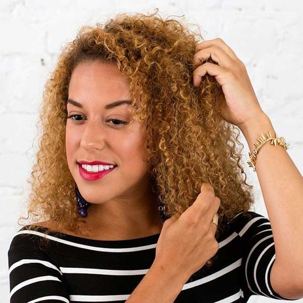 How to Style a Mini Mohawk Braid on Curly Hair