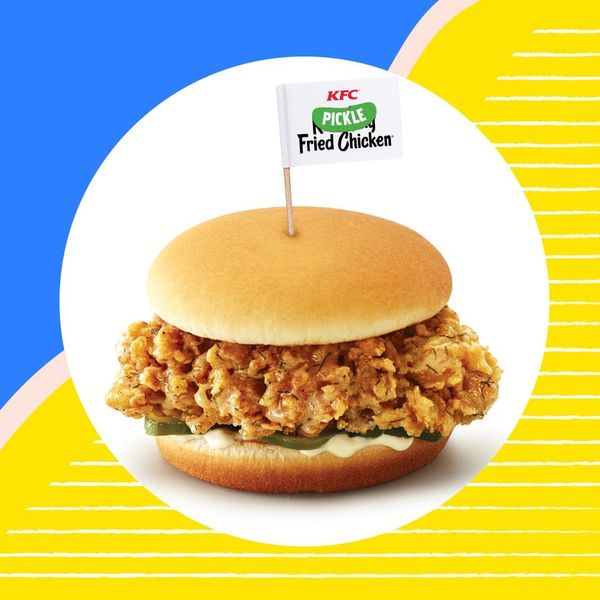 KFC's Latest Fried Chicken Is Brilliantly Pickle-Flavored
