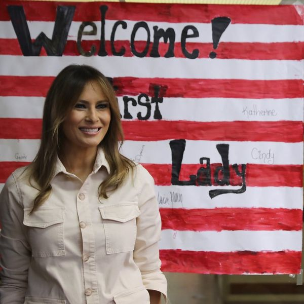Melania Trump Says She Wants to Help Reunite Migrant Children and Families During Visit at Texas Detention Center