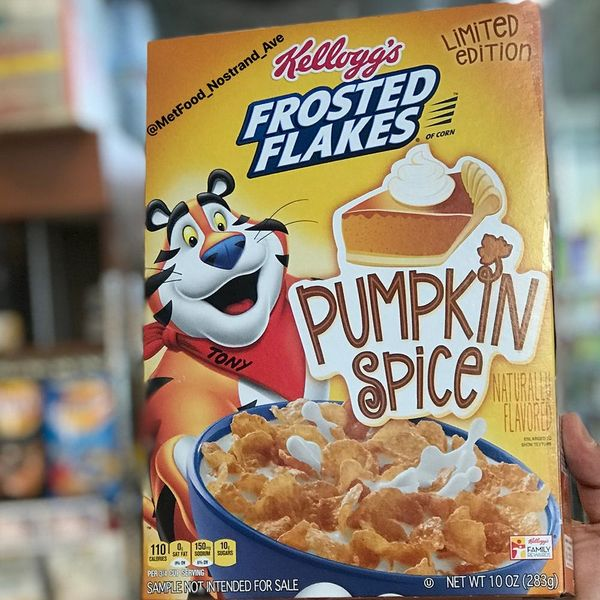 Pumpkin Spice Season Kicks Off Extra Early This Year Thanks to Frosted Flakes