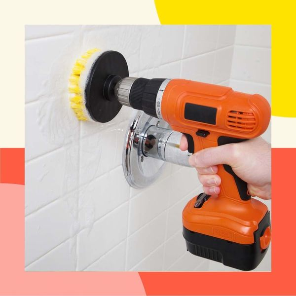 This Drill Scrub Brush Will Make You Actually Want to Clean Your House (Yes, Even Your Shower!)