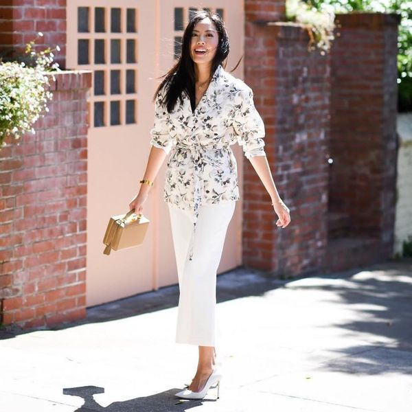 10 Street Style-Approved Ways to Wear Head-to-Toe White This Summer