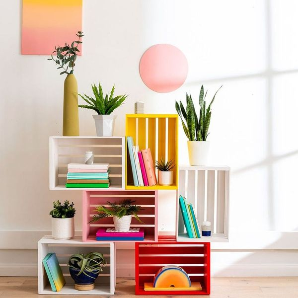 Create a Modular Crate Bookcase in 4 Simple Steps