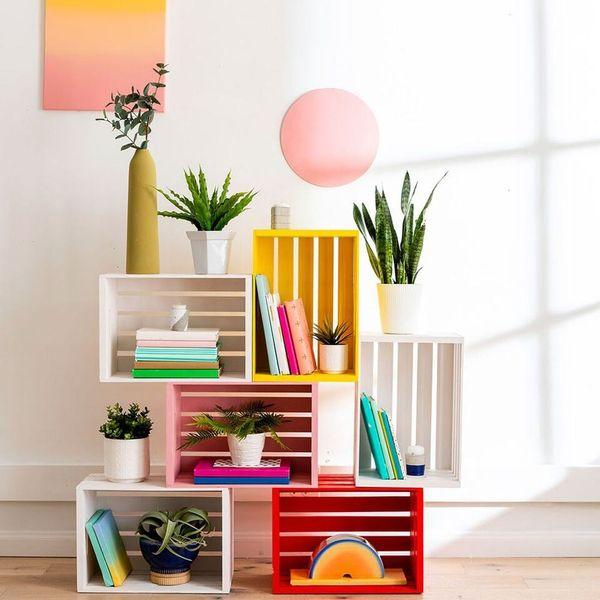 Create a Modular Crate Bookcase in 4 Simple Steps