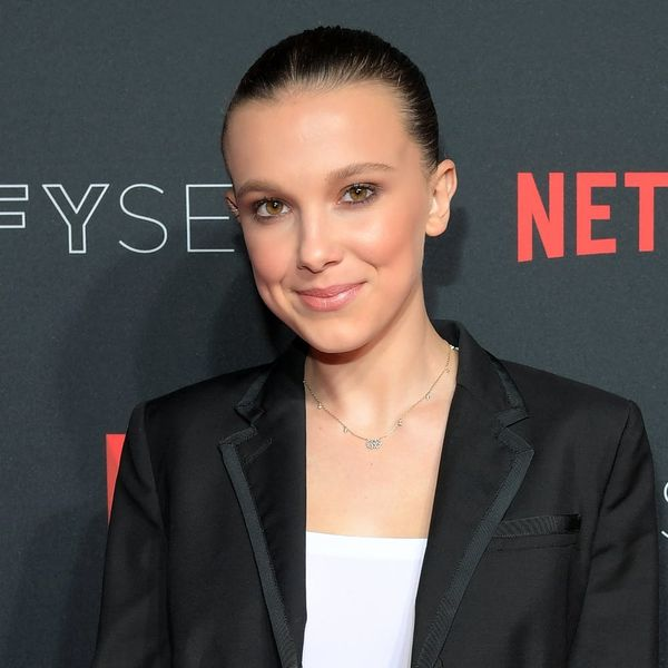 Millie Bobby Brown Is on Crutches After Splitting Her Kneecap