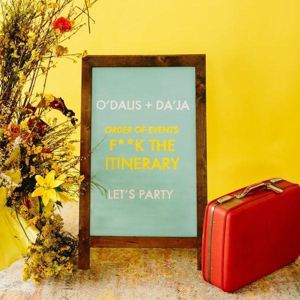 This Wes Anderson-Themed Wedding Shoot Will Inspire Hip Brides Everywhere