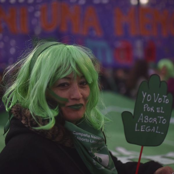 After Decades of Women's Advocacy, Argentina May Be on the Verge of Legalizing Abortion