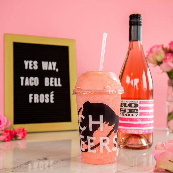 These Two #Blessed Taco Bell Locations Will Serve Frosé This Summer