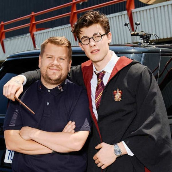Shawn Mendes Fully Nerded Out About 'Harry Potter' on 'Carpool Karaoke'