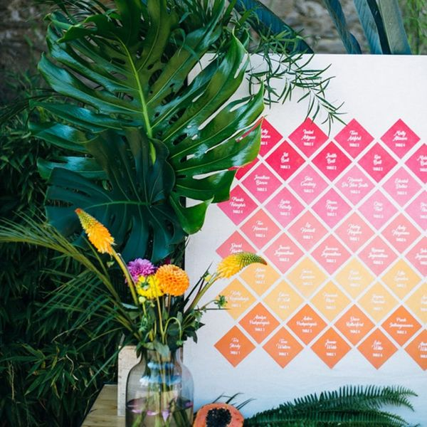 8 of the Most Creative Seating Chart Options for Your Big Day