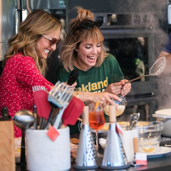 How Giada De Laurentiis and Halsey Spiced Up the Williams Sonoma Culinary Stage at BottleRock