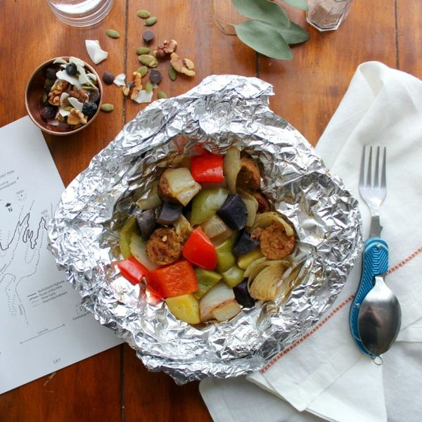 This Veggie Foil Packet Recipe Is Made for Campfire Cooking