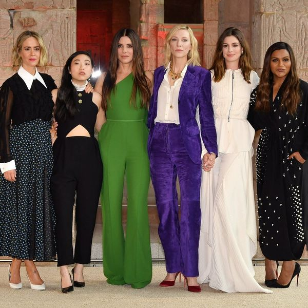 Sanrda Bullock Made the 'Ocean's 8' Ladies Delete Their Group Text for This Totally Valid Reason