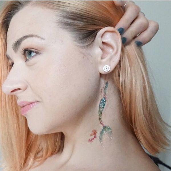 16 Mesmerizing Mermaid Tattoos You'll Flip For