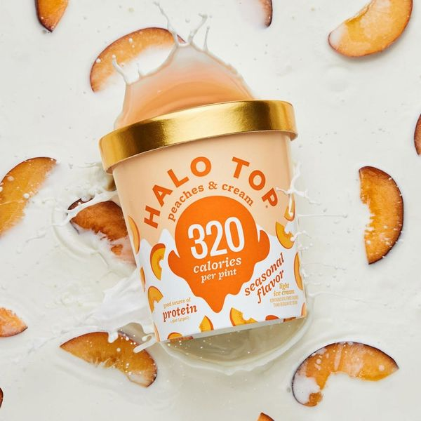 Halo Top Just Dropped a Seasonal Flavor That You'll Find Quite Peachy