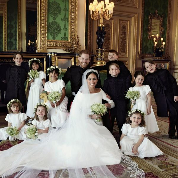 Prince Harry and Meghan Markle's Official Wedding Portraits Are Here and They're Stunning