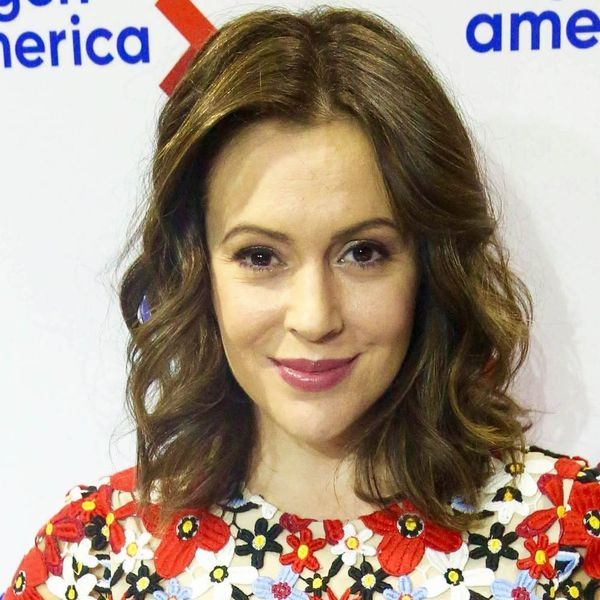 Alyssa Milano Opens Up About Her Struggles With Postpartum Anxiety
