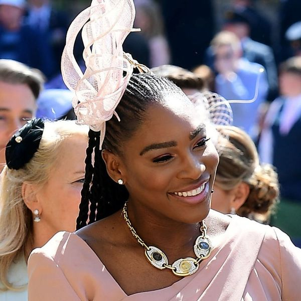 Serena Williams Wears Sneakers to the Royal Wedding Reception