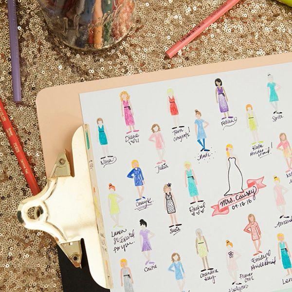 11 Fun, Fresh Wedding Guest Book Alternatives