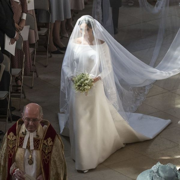 Why It Matters That Meghan Markle Walked Herself Halfway Down the Aisle