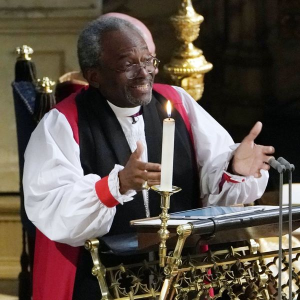 Everyone Is Talking About Bishop Michael Curry's Royal Wedding Sermon