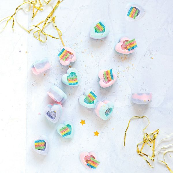 Hop on the Unicorn Food Trend With These Colorful Yogurt Bites