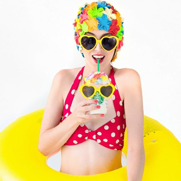 12 Ways to Throw the Coolest Retro Pool Party in Town