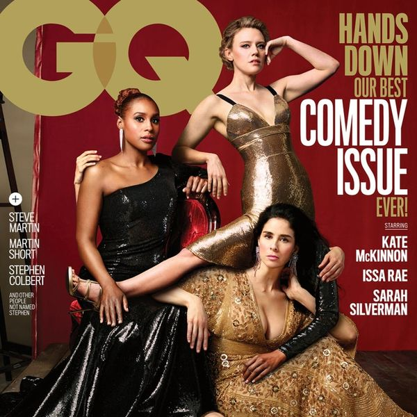 GQ's 2018 Comedy Issue Cover Hilariously Spoofs Vanity Fair's Extra-Arm Photoshop Fail