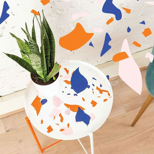 How to DIY a Vibrant Side Table for Summer