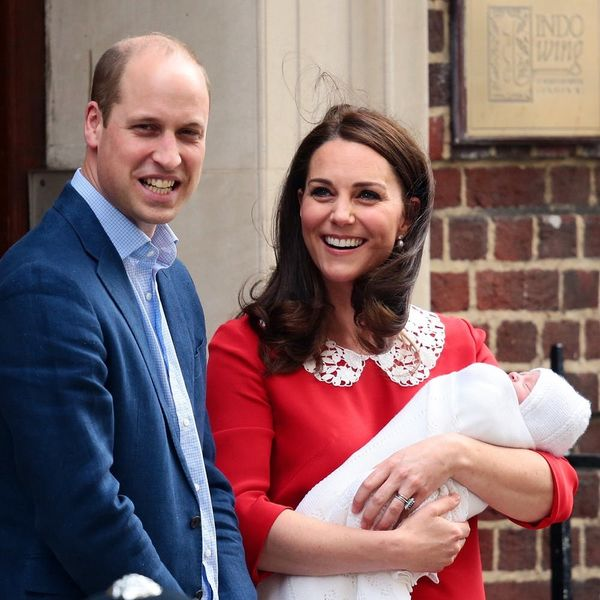 See the First Photos of Prince William and Duchess Kate Middleton's Baby Boy