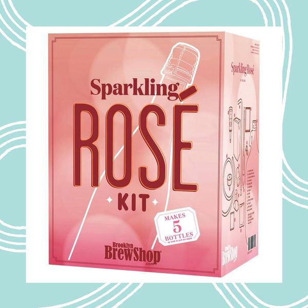 You Can Now Legitimately Brew Sparkling Rosé at Home Thanks to This Kit