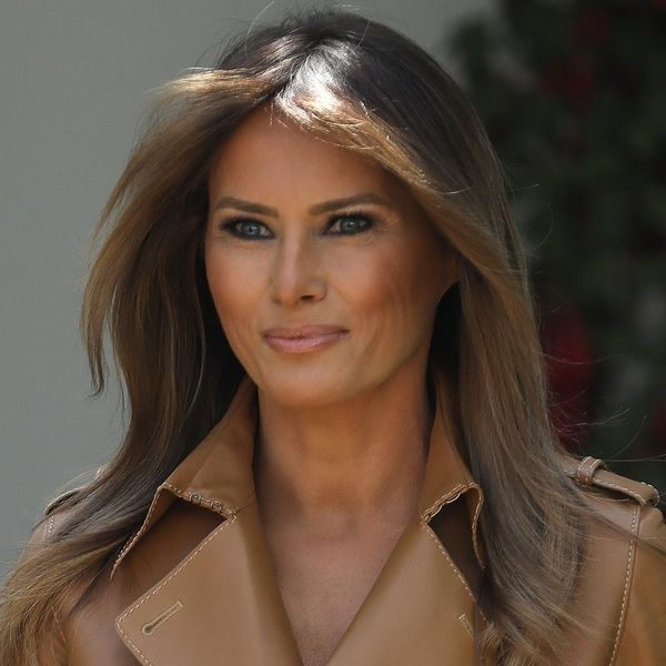 First Lady Melania Trump Is Recovering in the Hospital After a Kidney Procedure