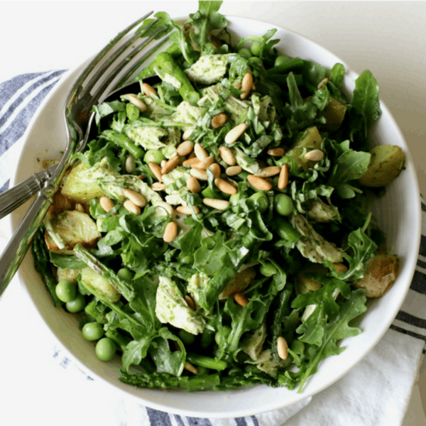 Behold, a Spring Chicken Salad That You'll Actually Crave