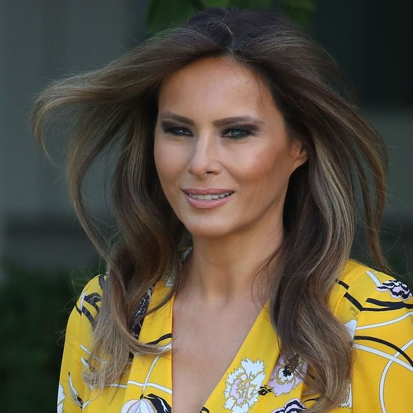 Melania Trump Is Getting in on the Gingham Trend for 4th of July Weekend