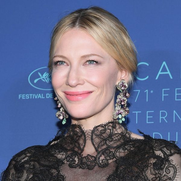 Cate Blanchett Recycled Her 2014 Golden Globes Gown on the Cannes Red Carpet for the BEST Reason