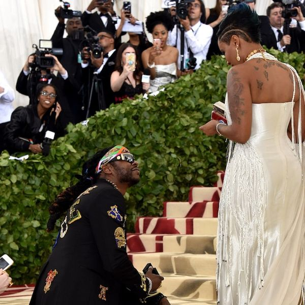 Met Gala 2018: Everyone Thinks 2 Chainz Just Proposed on the Red Carpet