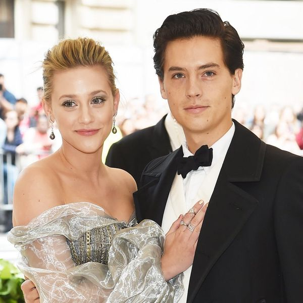 Lili Reinhart and Cole Sprouse Make Their Red Carpet Debut at the 2018 Met Gala