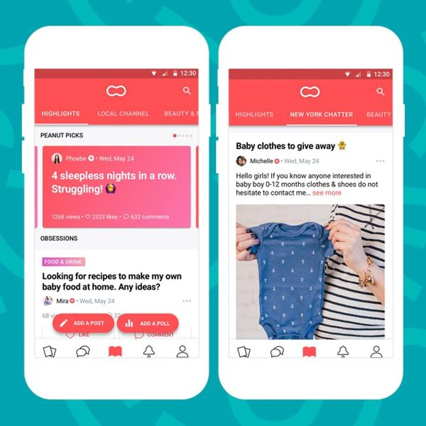 Peanut App's Newest Feature Lets Moms Ask What's Really on Their Minds