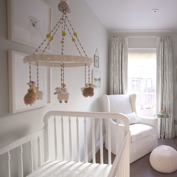 Create A Tiny, Serene Nursery With These Design Hacks