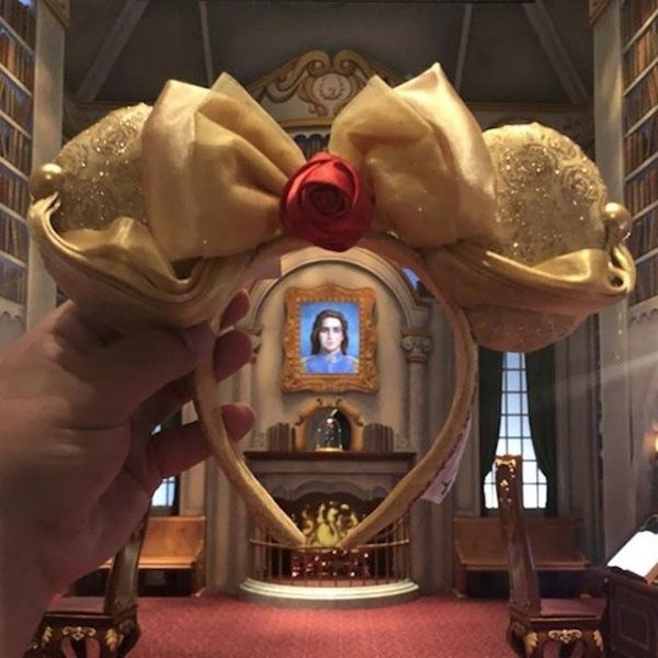 """Disney Just Released """"Beauty and the Beast"""" Minnie Mouse Ears… and We Know Where to Find Them"""